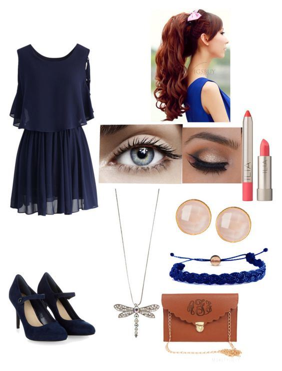 """Cute Church Outfit"" by ianite ❤ liked on Polyvore featuring beauty, Chicwish, Monsoon, Domo Beads, Saachi and Ilia"