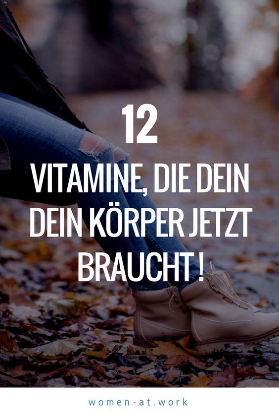 Im Herbst benötigt dein Körper bestimmte Vitamine, damit er sich z.B. gegen Infekte, trockene Haut, Gewichtszunahme, Müdigkeit, Nachtblindheit und Schlafstörungen wappnen kann. Am besten sind natürliche Vitamine aus der Nahrung. Der Grund: Sie wirken intensiver als künstliche Vitaminstoffe aus Tabletten.