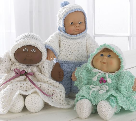Baby Doll Wardrobe Crochet Pattern | Creative Crocheting/Knitting