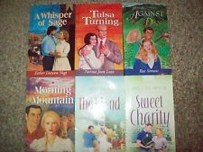 Lot 6 Paperback Books Heartsong Presents Romance Mary Davis Janice Thompson