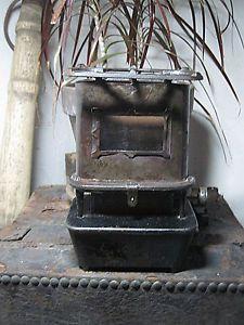 Antique Sad Iron Heater Stove Runs On Kerosene Or