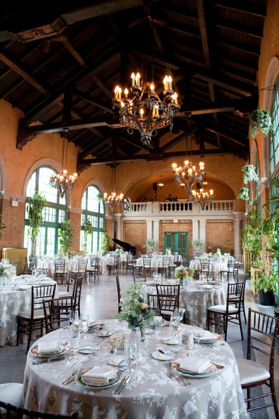 Chicago Wedding at the Columbus Park Refectory from Gerber + Scarpelli | Style Me Pretty