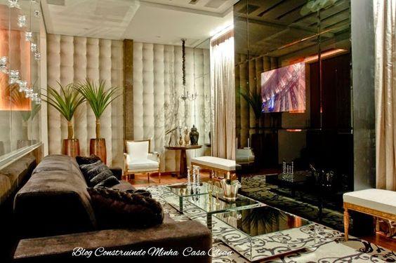 TVs Embutida em Vidros, Espelhos e Portas! Veja essa Tendência!