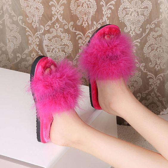【 $9.99 & Free Shipping 】Sweet Home Slippers Fashion Autumn Winter Ladies Flats Slip On Indoor Shoes Woman Soft Comfortable | worth buying on AliExpress