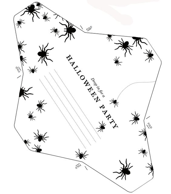 free halloween clip art invitations - photo #25