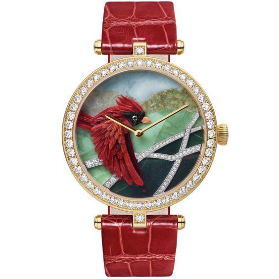 Lady Arpels Cardinal Carmin