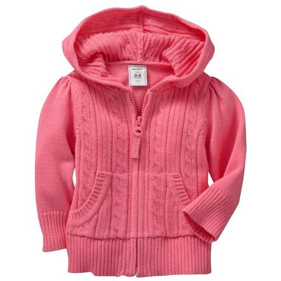 Old Navy Cable-Knit Zip Hoodies for Baby (50 BRL) ❤ liked on Polyvore featuring baby, baby clothes, baby girl, baby girl clothes and kids