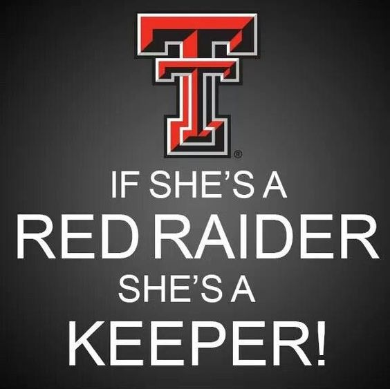 She's a Red Raider!!