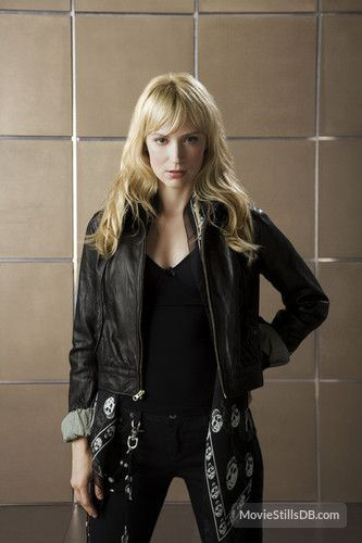Leverage - Promo shot of Beth Riesgraf