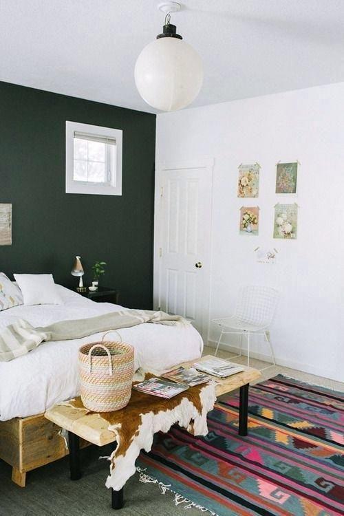 Forest Green Bedroom Walls Be Afraid Of The Dark Black