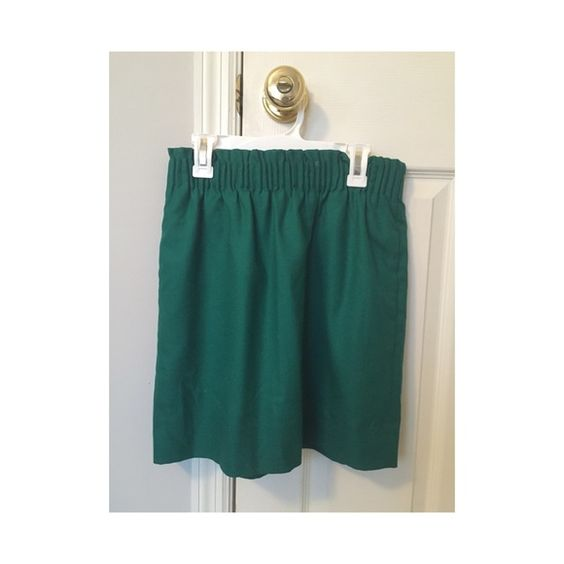 J. Crew Green Paper Bag Skirt Forest green color and has pockets. This item has only been worn twice. J. Crew Skirts