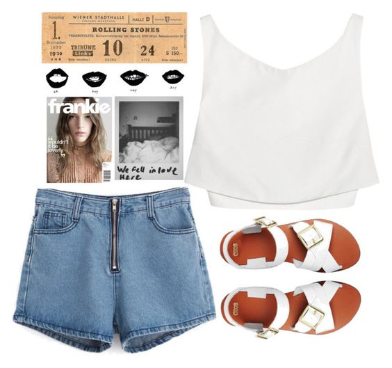 """Rolling Stones"" by aga2406 ❤ liked on Polyvore featuring Mode, McQ by Alexander McQueen und ASOS"