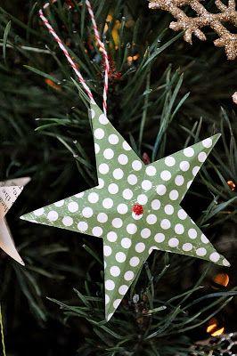 handmade ornaments in about 5 minutes each {tutorial} | Little Birdie Secrets