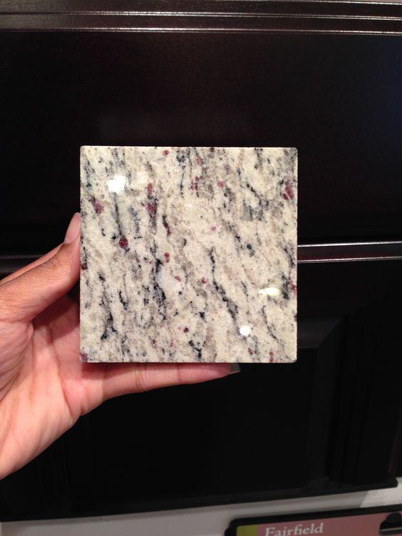 Scottsdale Maple Expresso Cabinets and Santa Cecilia Light granite ...