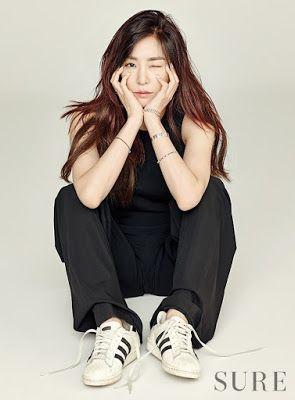 Tiffany Hwang SNSD Girls Generation Sure January 2016