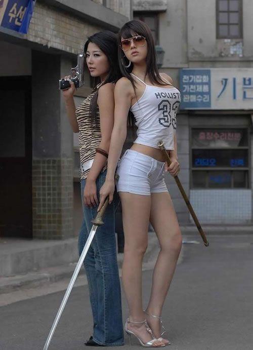 Hot ninja girls