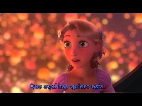 Veo En Ti La Luz Canción Latino Letra Enredados Youtube Cancion De Enredados Enredados Walt Disney Pictures