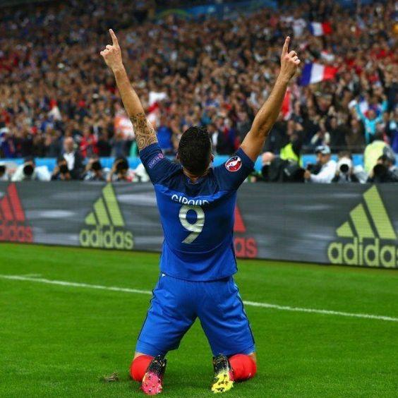 Olivier Giroud brace melts Iceland