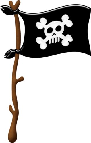 clipart pirate flag - photo #25