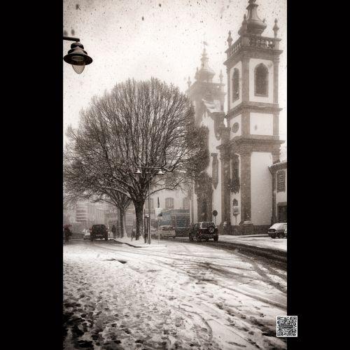 Ref: 18-1016 Rua Alves Roçadas em dia de nevãoTodas as...