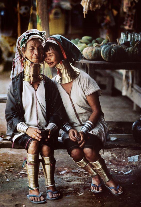 Families | Steve McCurry: Burma Myanmar, Burma Steve, Steve Mccurry, Long Neck, Myanmar Burma, Kayan People, Neck Rings, Padaung Women, People Culture