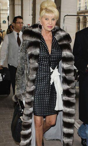 Ivanka Trump Chinchilla Fur Coat   Ivanka Trump Chinchilla Fur Coat ...