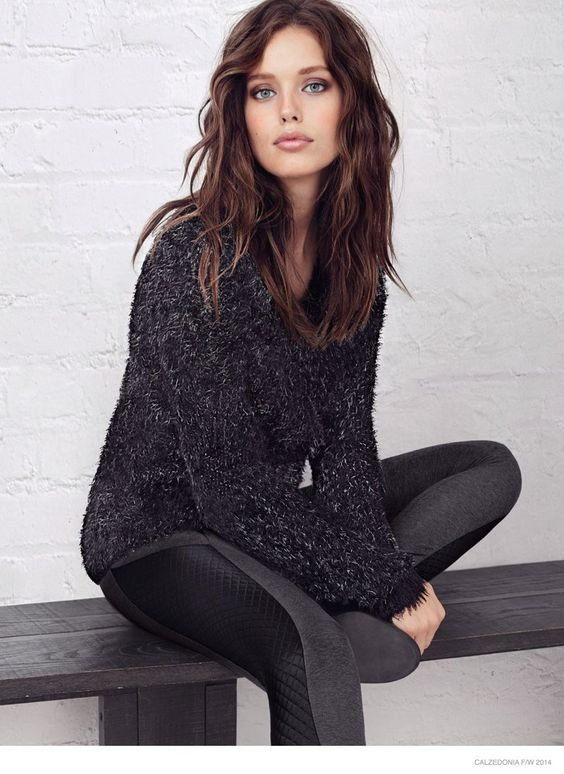 Emily DiDonato Stars in Calzedonia Fall 2014 Catalogue