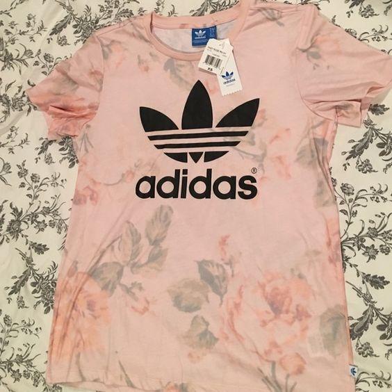 XS Adidas T-Shirt XS Rose Pink Adidas T-Shirt- runs big (baggy) Adidas Tops Tees - Short Sleeve
