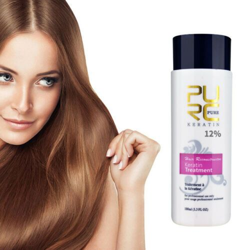 12 Brazilian Keratin Repair Damage Frizzy Curly Hair Straightening Shampoo Ebay In 2020 Straightening Shampoo Frizzy Curly Hair Keratin
