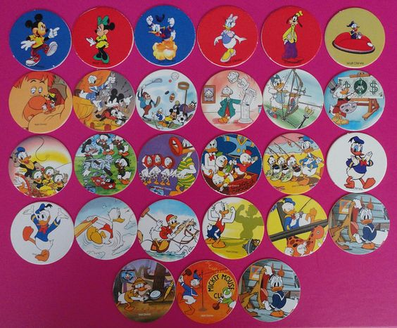 Vintage Disney pogs / Tazos de Disney | Flickr - Photo Sharing!:
