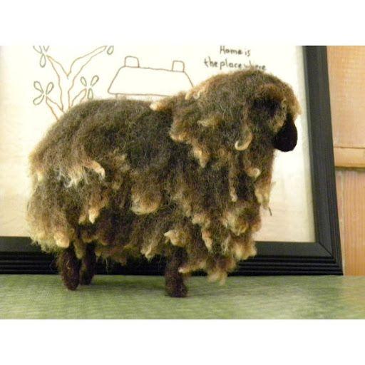 really wooly baa baa: Felted Sheep Goats, Felting Animals, 3D Barnyard Animals, Felt Wool Animals, Needle Felting, Felt Animals