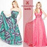 Moldes de vestidos longos e lindos | Faça facilmente