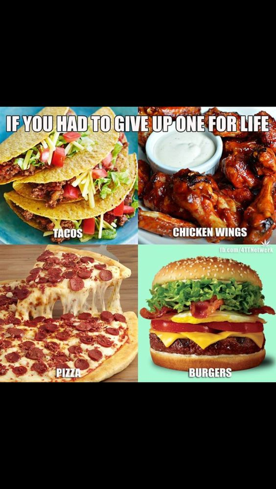 Pick one food to go forever without meme stash for Cuisine to go
