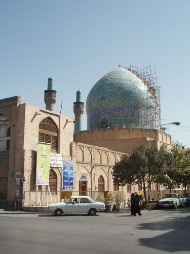 Chahar Bagh madrasah, Isfahan