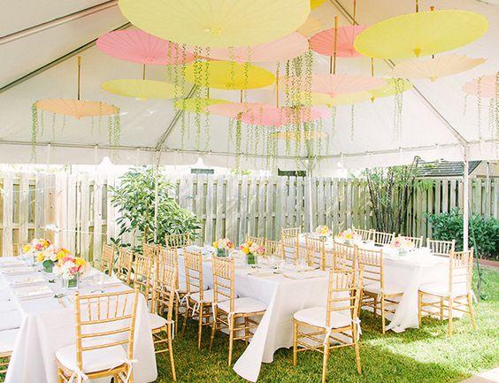 pink and yellow garden baby shower garden baby showers baby showers