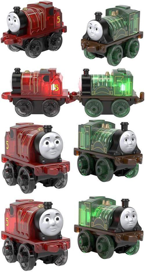 Fisher-Price Thomas /& Friends Minis JAMES /& Emily light-ups