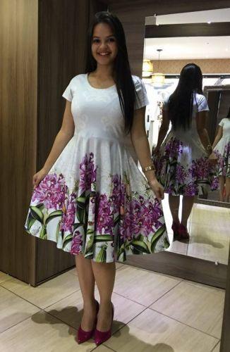 Vestidos Floridos 2020Evasê