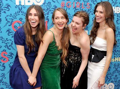 Zosia Mamet , Jemima Kirke , Lena Dunham y Allison Williams.