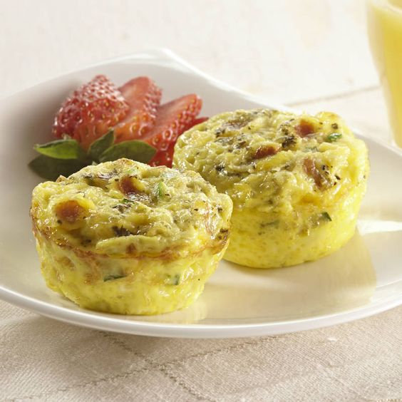 Learn to make Cheesy Bacon Mini Frittatas. Read these easy to follow ...