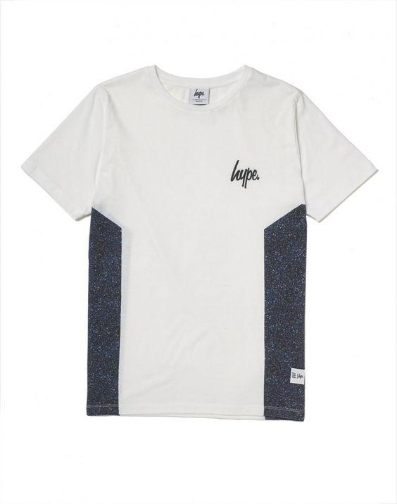 Speckle Side Panel T-Shirt