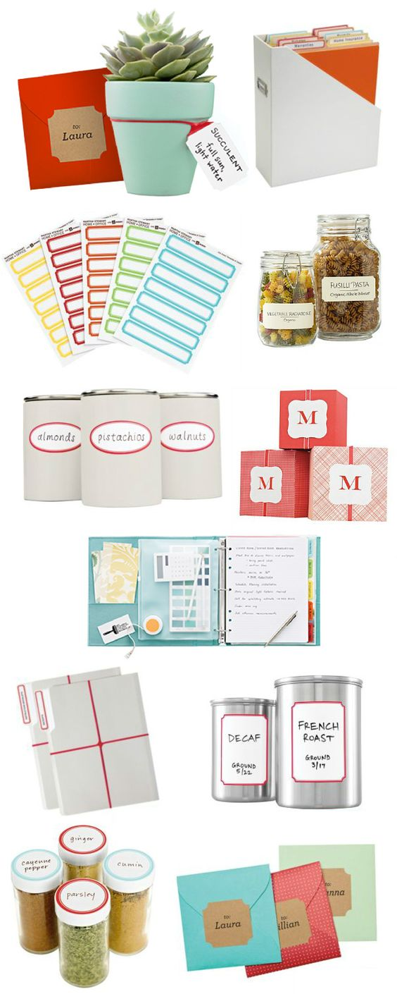 Martha Stewart + Avery. Saw this stuff at Staples and fell in love.
