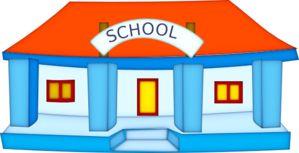 School Building clip art - vector clip art online, royalty free & public domain