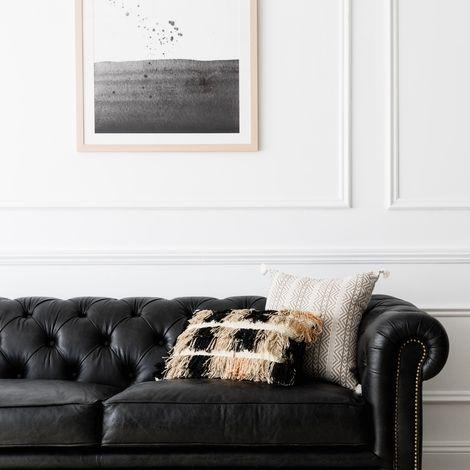 Mua sofa da tphcm trang trí phòng khách cho người mệnh Mộc