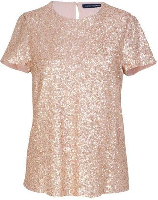 French Connection Mini Sequins Top from John Lewis - Was £ 92 now £56