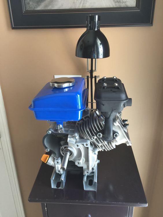 Engine Desk Light Custom Made