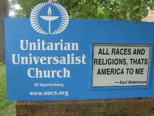 Gay Star News: Nov. 30, 2014 - Unitarian church in South Carolina offers day of free weddings as gay marriage legalized in state