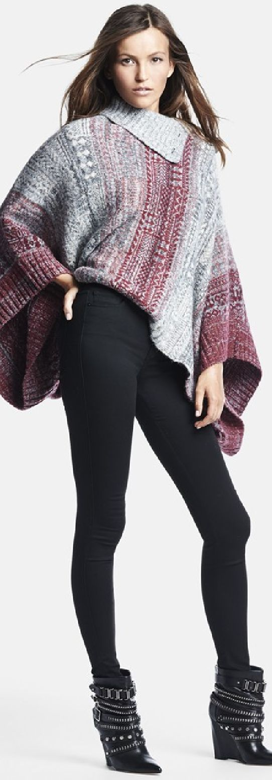 Free People 'Willow' Poncho