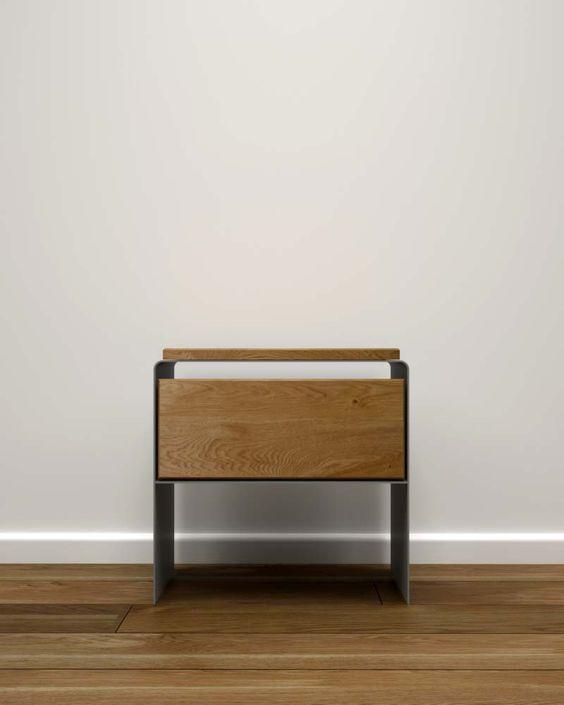 Nachttisch holz modern schwarz Mystery | Stahlzart® Designmöbel für Ihr zuhause online bestellen