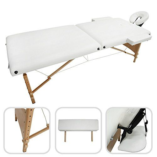 Vidaxl Table De Massage Pliante Lit De Massage 4 Zones Rouge Cadre Aluminium Sac Massage Table Diy Massage Oil Shiatsu Massage