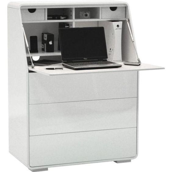 Sekretär mit klappbarer Tischplatte für Ihren Laptop office and - blackhawk sekretar schreibtisch design